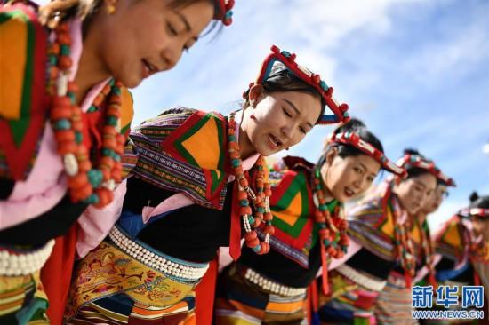 """(新华视界)(7)""""藏西秘境""""的文化瑰宝――古格宣舞"""