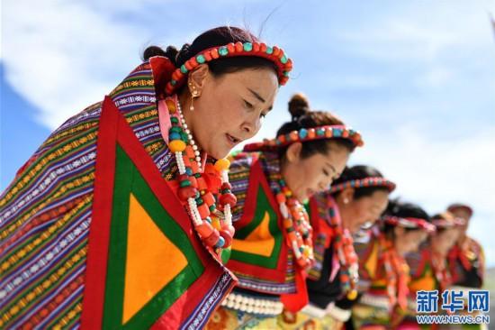 """(新华视界)(1)""""藏西秘境""""的文化瑰宝――古格宣舞"""