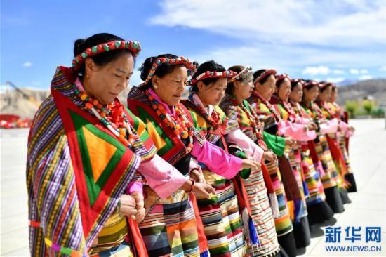 """(新华视界)(8)""""藏西秘境""""的文化瑰宝――古格宣舞"""