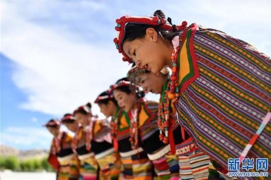 """(新华视界)(2)""""藏西秘境""""的文化瑰宝――古格宣舞"""
