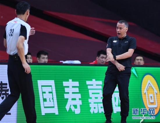 (体育)(12)篮球――CBA联赛季后赛:辽宁本钢对阵浙江稠州银行