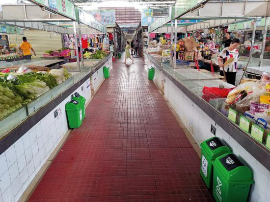 南宁高新区高峰农贸市场成为城市文明形象展示窗口