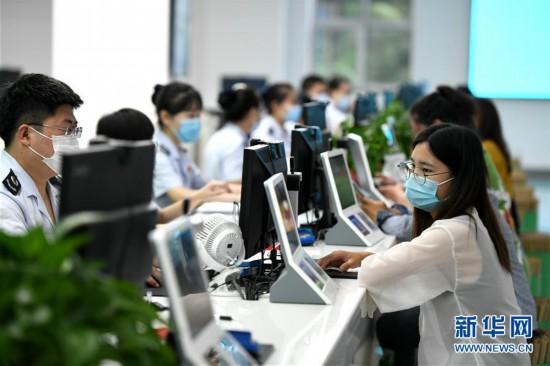 #(社会)(1)河北石家庄:智能办税厅  便捷更高效