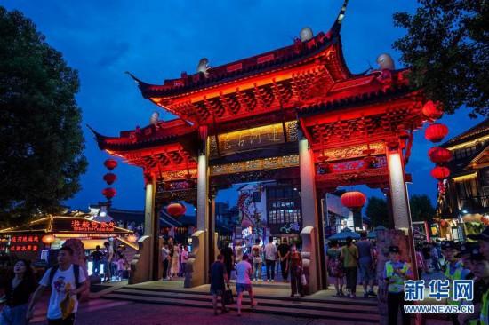(经济)(2)江苏无锡:点亮运河夜经济