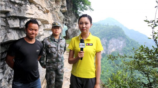 解放军新闻传播中心范叶然:一直在路上