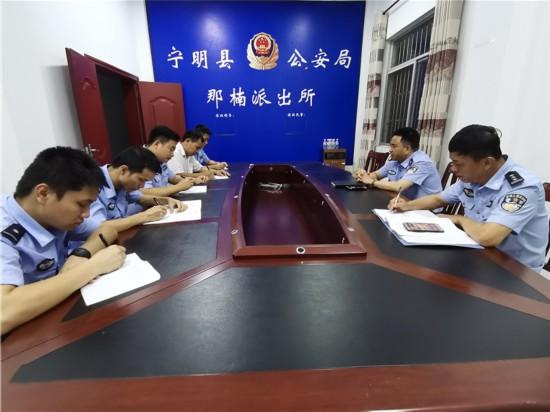 宁明县领导到各乡镇检查指导禁毒工作