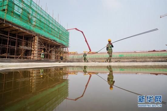 雄安新區:重點建設項目加緊施工