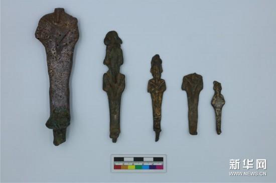(国际・图文互动)(1)疫中考古――中国与埃及首次联合考古取得阶段性成果