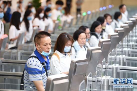 (社会)(7)粤澳宣布开通横琴口岸新旅检区域