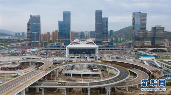 (社会)(15)粤澳宣布开通横琴口岸新旅检区域