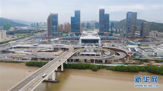(社会)(12)粤澳宣布开通横琴口岸新旅检区域