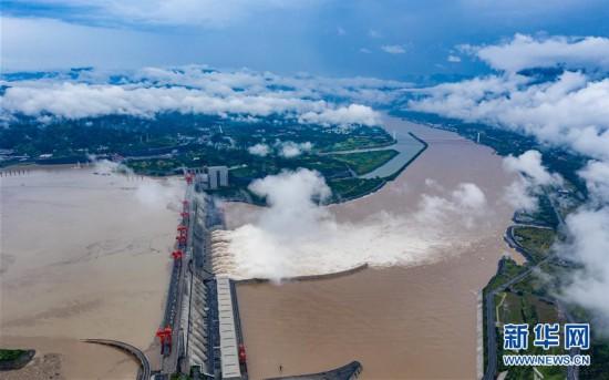 #(图文互动)(2)三峡水利枢纽迎战建库以来最大洪峰