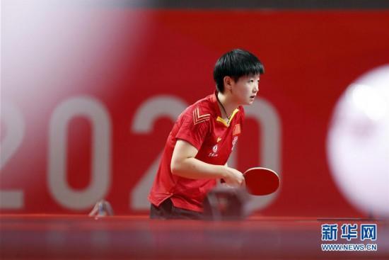 (体育)(4)乒乓球――奥运模拟赛:女子一团获女团冠军
