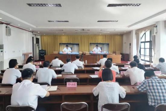 万宁设分会场参加省委应对疫情工作领导小组第十六次会议