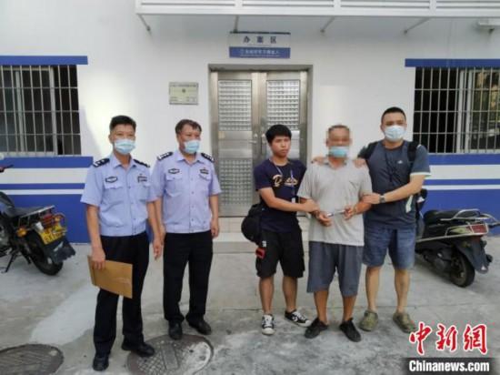 男子涉嫌殺害弟弟潛逃20年在廣東酒駕意外落網
