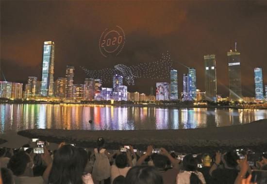 灯光盛宴 祝福深圳