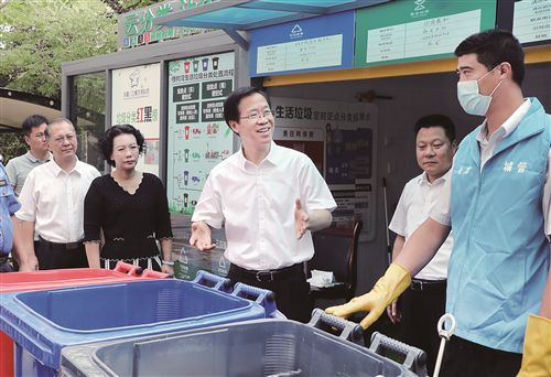 徐州:推進生活垃圾分類 提升公廁衛生水平