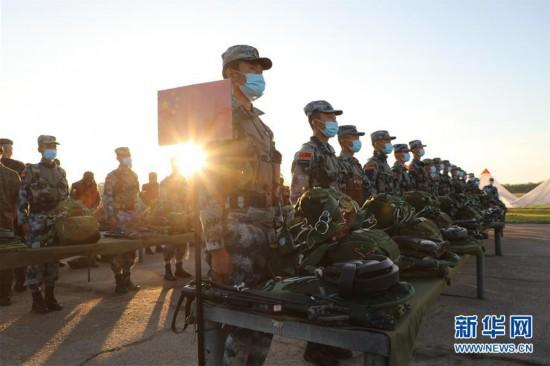 """(国际・图文互动)(7)中国队在""""国际军事比赛-2020""""连创佳绩"""