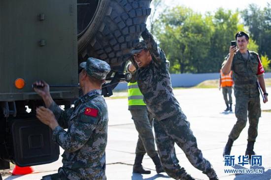 """(国际・图文互动)(1)中国队在""""国际军事比赛-2020""""连创佳绩"""