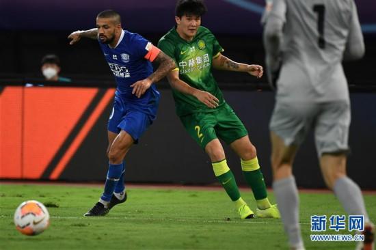 (体育)(3)足球――中超:石家庄永昌平北京中赫国安