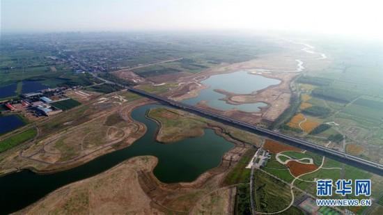 (环境)(1)河北石家庄:滹沱河生态修复二期工程完工
