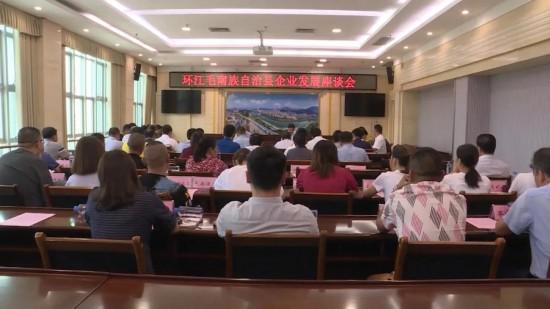 環江組織召開企業發展座談會