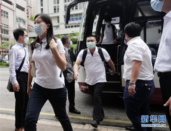 (港澳台・香港故事・图文互动)(6)为了750万人的生命健康――内地支援香港核酸检测图景扫描