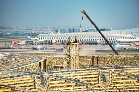 海立方游戏官网宝安国际机场卫星厅明年建成运营