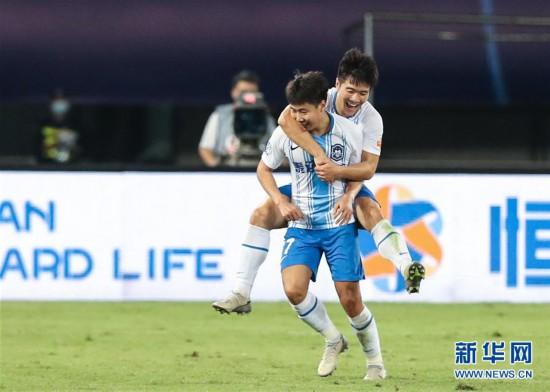 (體育)(4)足球——中超:重慶當代勝天津泰達