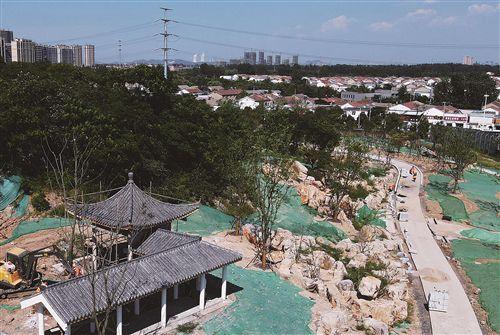 徐州打造櫻花特色山體公園 辛山公園預計年底開放