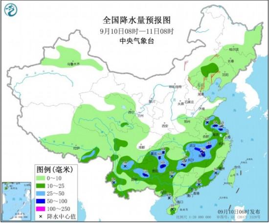 中央气象台:未来三天西南地区东部和南部、江南华南等地多降水