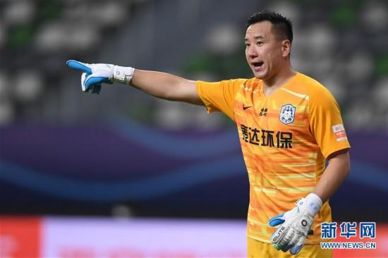 (体育)(14)足球――中超:北京中赫国安胜天津泰达