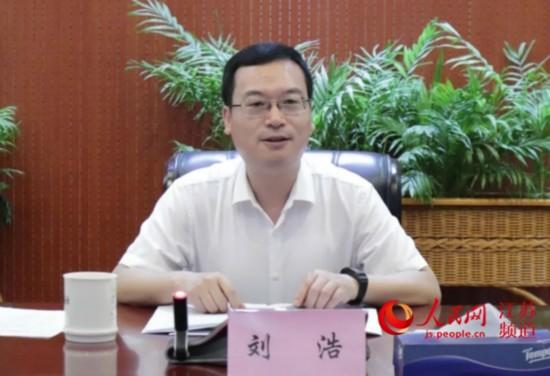 南通市委常委、崇川區委書記劉浩。