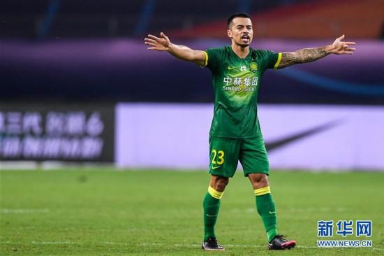 (体育)(8)足球――中超:北京中赫国安胜天津泰达