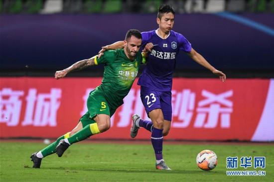 (体育)(10)足球――中超:北京中赫国安胜天津泰达