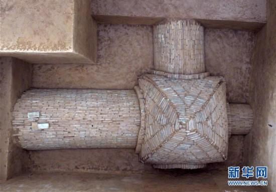 (图文互动)(3)陕西修复东汉时期青铜摇钱树