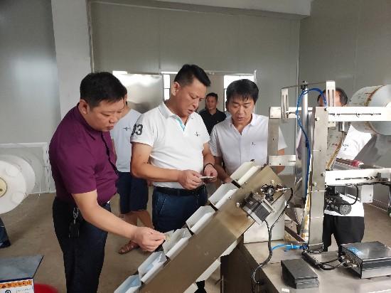 黄钦走访部分重点企业为企业解难题谋发展
