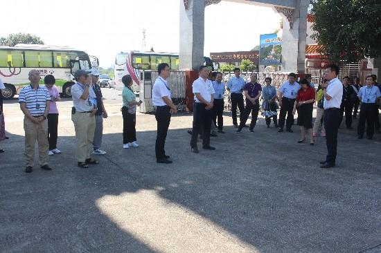 自治区文旅融合产业发展培训班学员到兴安县进行现场观摩教学活动