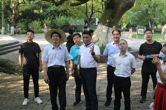 水利部国家水情教育基地复审专家组到兴安县复核