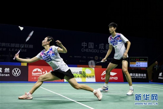 (体育)(12)羽毛球――羽超联赛:青岛仁洲夺冠