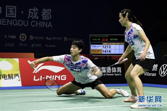 (体育)(11)羽毛球――羽超联赛:青岛仁洲夺冠