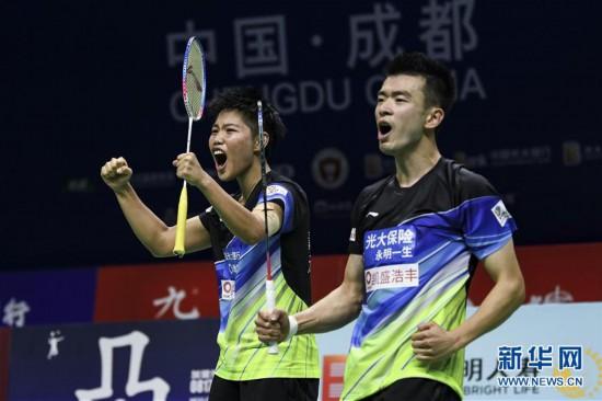 (体育)(4)羽毛球――羽超联赛:青岛仁洲夺冠