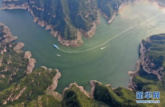 (美丽中国)(3)河南济源:黄河三峡美 犹在画中游