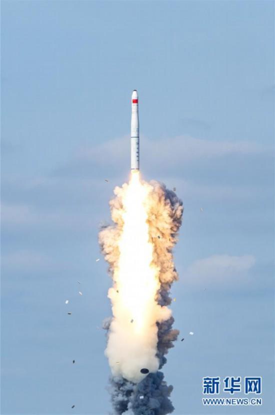"""(图文互动)(2)一箭九星!我国在黄海海域成功发射""""吉林一号""""高分03-1组卫星"""