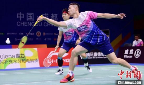 选手在比赛中 中国羽协提供 摄