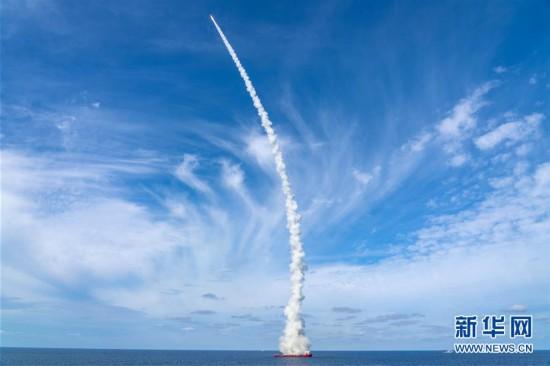 """(图文互动)(4)一箭九星!我国在黄海海域成功发射""""吉林一号""""高分03-1组卫星"""
