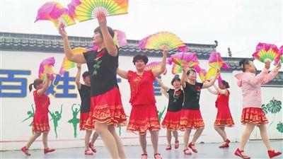 海門長春村:百姓大舞台舞出美好生活