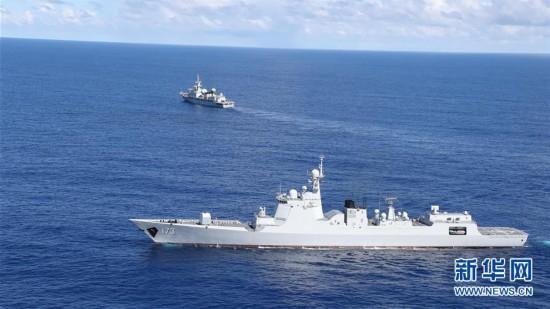 (在习近平强军思想指引下・我们在战位报告・图文互动)(1)海军长沙舰:向着梦想全速前进