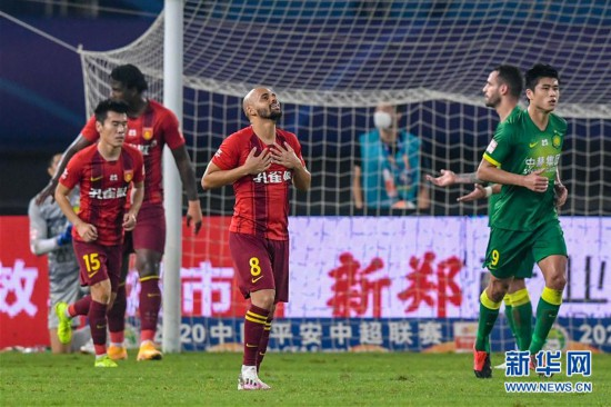 (体育)(7)足球――中超:河北华夏幸福平北京中赫国安