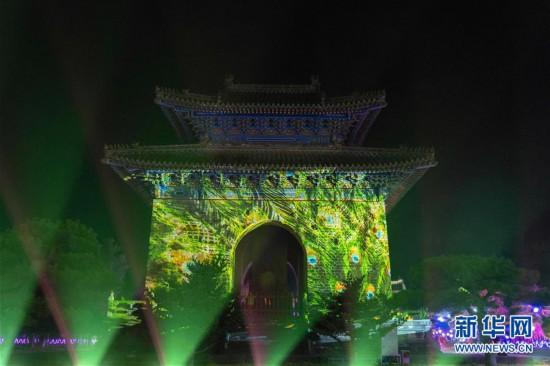 (新华视界)(4)湖北武当山:光影秀点亮古建筑